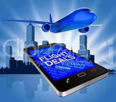 Flight Deals Represents Reduction Plane And Discounts