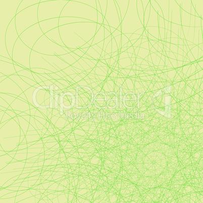 Green web.