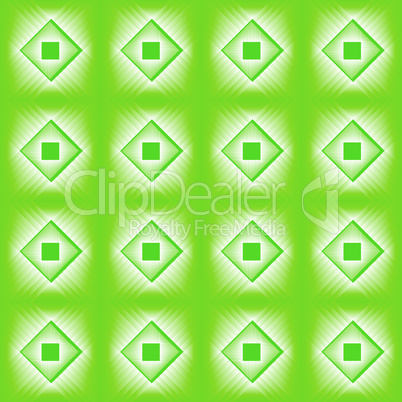 Tiles made of green diamond.