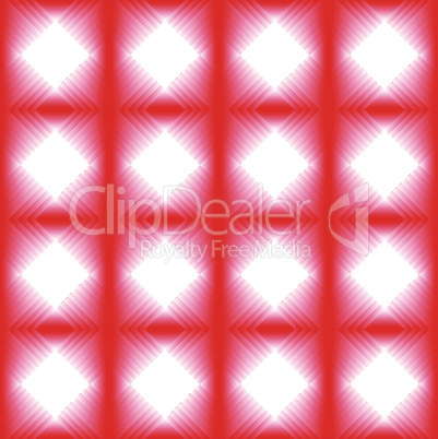 Tiles made of red diamond.