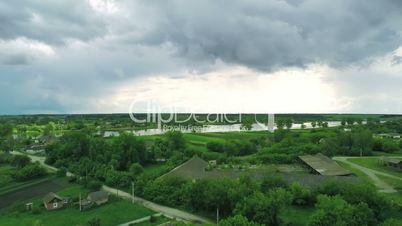 Village Aerial Panorama
