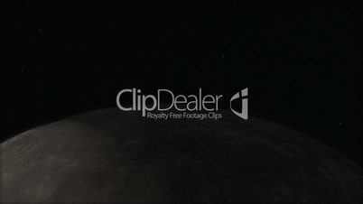 Ultra Closeup Moon Timelapse with Sun Transit