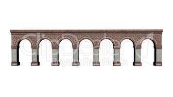 Castle arches - 3D render