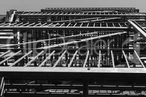 Balcony geometry in black and white