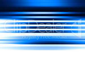 Horizontal blue motion blur abstract background