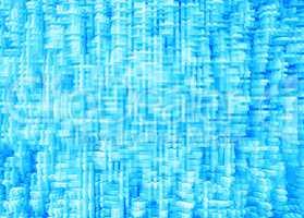 Horizontal cyan blue 3d extruded digital cubes abstraction backg
