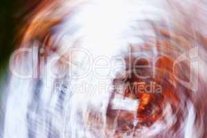 Horizontal vintage rusty motion blur swirl abstraction backgroun