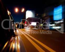 Horizontal vivid motion car speed abstraction background backdro