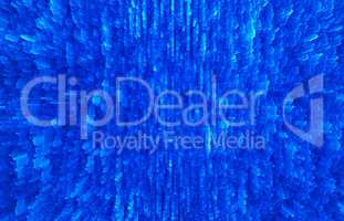 Horizontal vivid blur extruded 3d cubes abstract backdrop