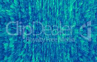 Horizontal pale green extruded 3d cubes abstract backdrop