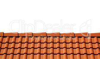 Sunlight roof isolated on white