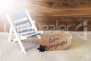 Summer Sunny Label, Bon Voyage Means Good Trip