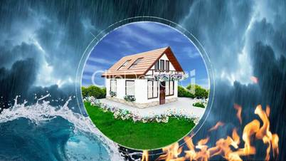House protection against disasters