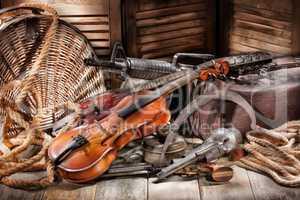 Machine Gun And Violin