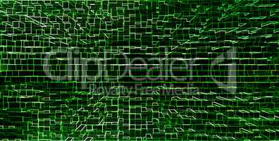 Horizontal green matrix hacker pixel neo business presentation a