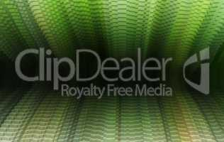 Horizontal vibrant green vivid business presentation 3d extruded
