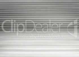 Horizontal white and black extruded lines abstract background