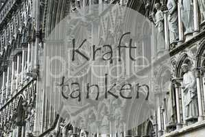Church Of Trondheim, Kraft Tanken Means Relax
