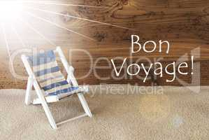 Summer Sunny Greeting Card, Bon Voyage Means Good Trip
