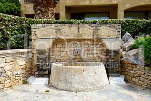 The recreation area at luxury hotel, Crete, Greece