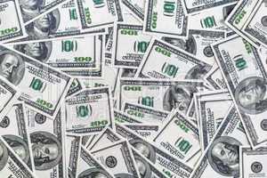 Fake money background
