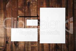 Template for branding identity