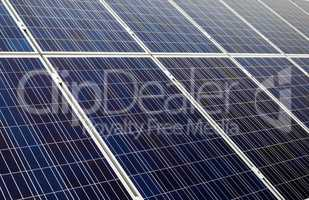 Blue solar cells