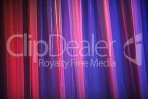 Purple theater curtain