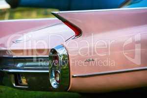 Back view of Cadillac de Ville