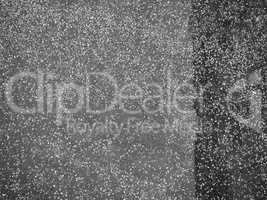 Tarmac asphalt background in black and white