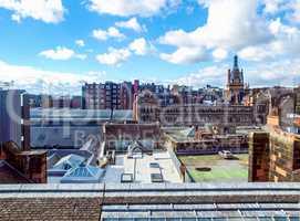 View of Glasgow, Scotland