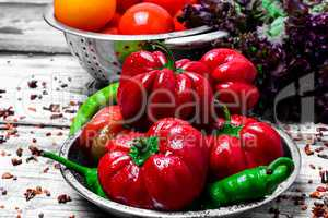 Mix spicy pepper