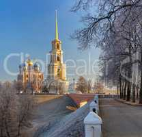 cathedral bell tower of Ryazan kremlin,  XVIII?XIX century, Ru