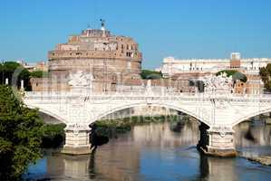 Ponte Vittorio Emanuele II Rome Italy