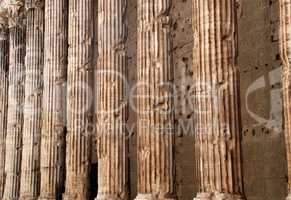 Rom Italien Säulen des Pantheon