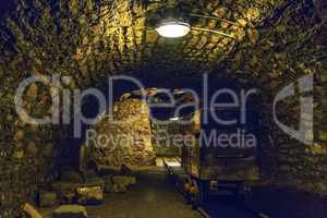 Old underground mine, Banska Stiavnica, Slovakia