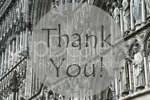 Church Of Trondheim, Text Thank You