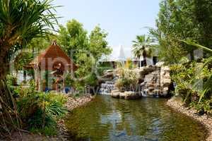 The recreation area at luxury hotel, Dubai, UAE