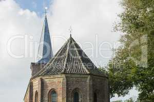 Church of Hoorn Terschelling Netherlands.