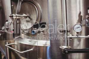Storage tank at distillery