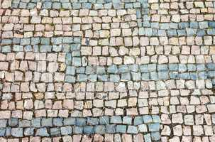 Cobblestone background texture