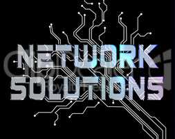 Network Solutions Shows Global Communications And Communicate