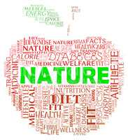Nature Apple Indicates Environment Green And Fruits