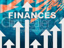 Finances Graph Means Profit Commerce And Figures
