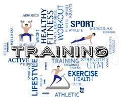 Fitness Training Indicates Physical Activity And Exercise