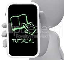 Tutorial Online Means Learn Internet And Tutoring 3d Rendering