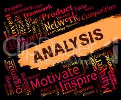 Analysis Words Indicates Data Analytics And Analyse