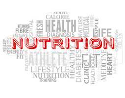 Nutrition Words Means Diets Diet And Sustenance