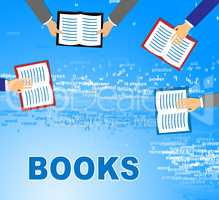 Learning Books Represents Learned Train And Schooling