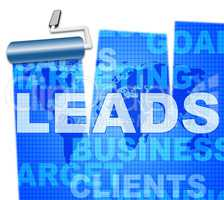 Sales Leads Means Retail Vend And E-Commerce